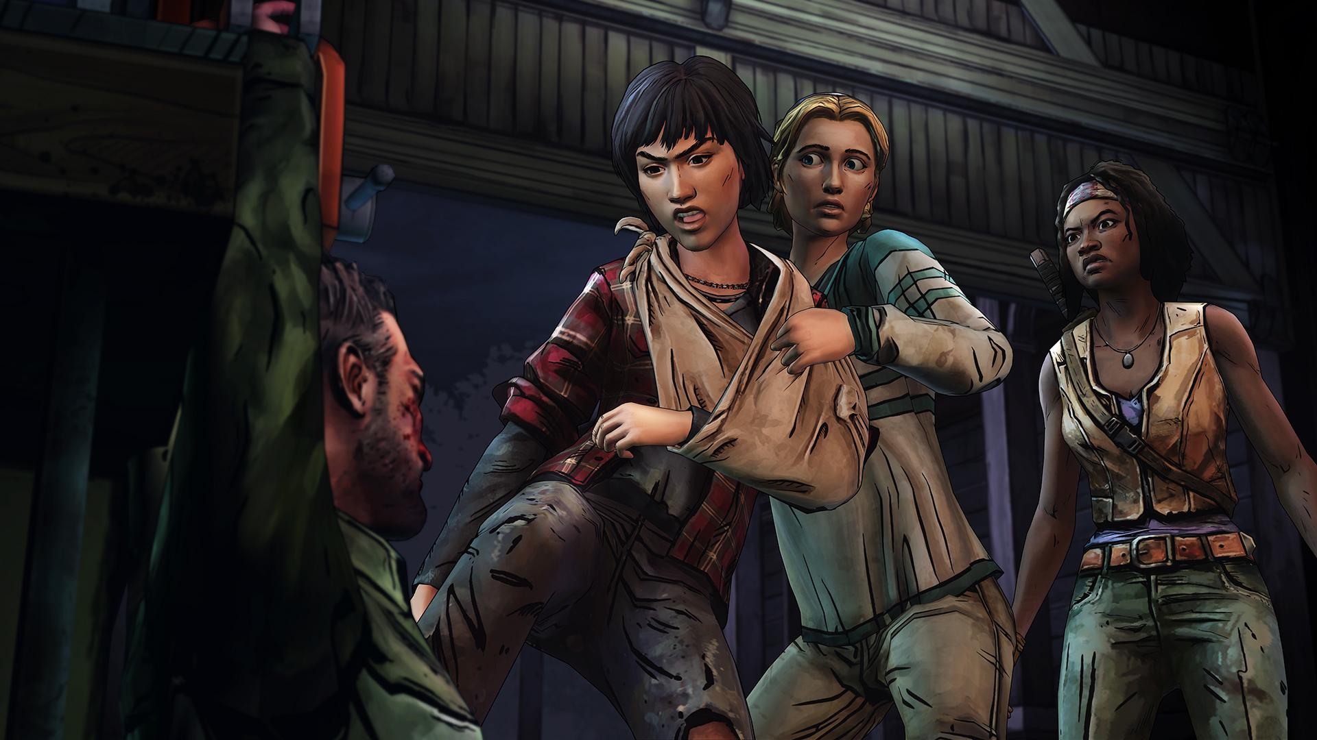The Walking Dead Michonne Episode 3 What We Deserve Review Screenshot 3