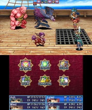 Alphadia 3DS Review Screenshot 2