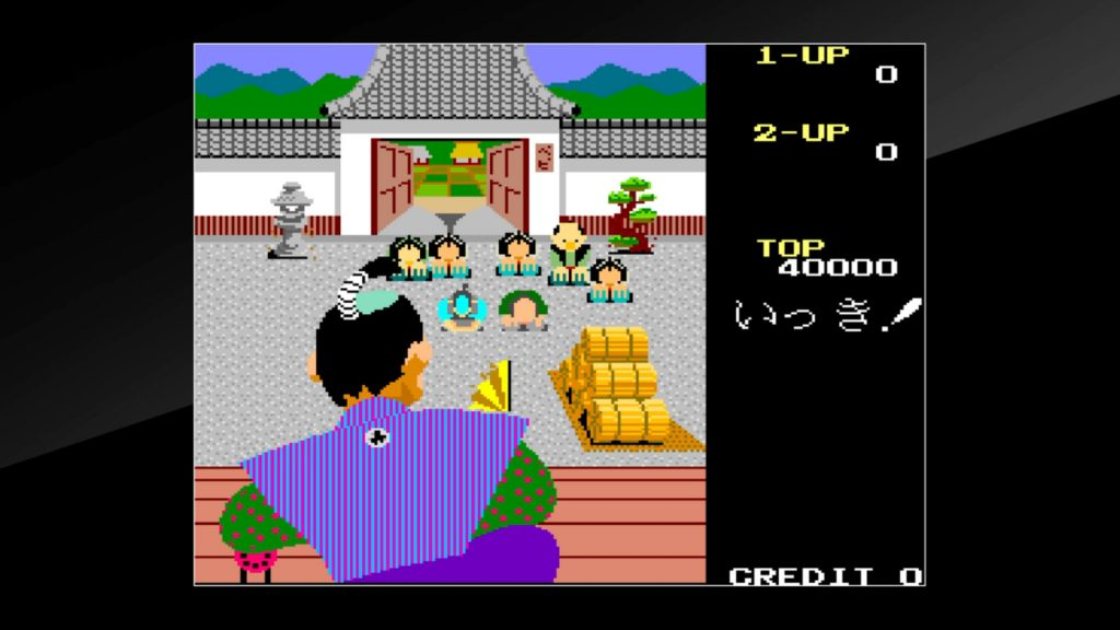 Arcade Archives Ikki PS4 Game Review Screenshot 1