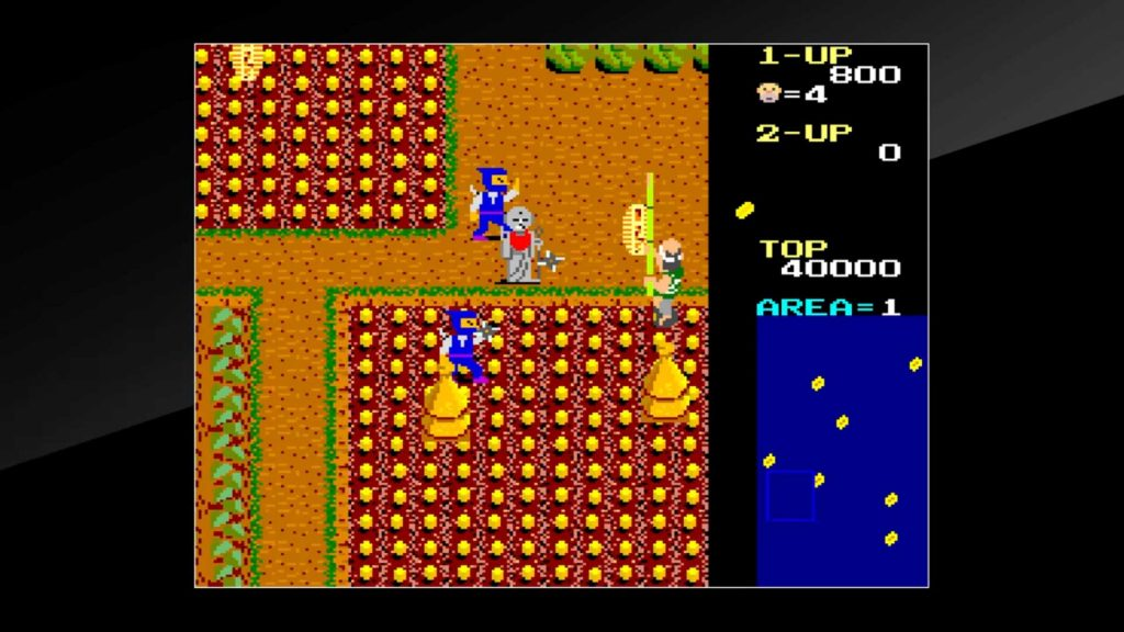 Arcade Archives Ikki PS4 Game Review Screenshot 2