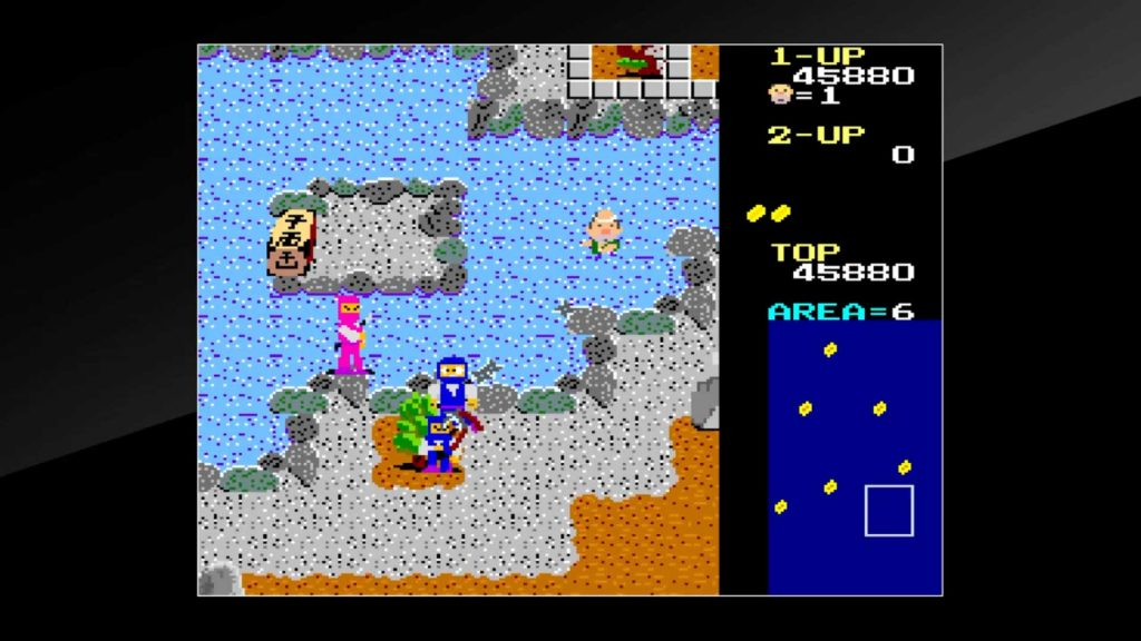 Arcade Archives Ikki PS4 Game Review Screenshot 3