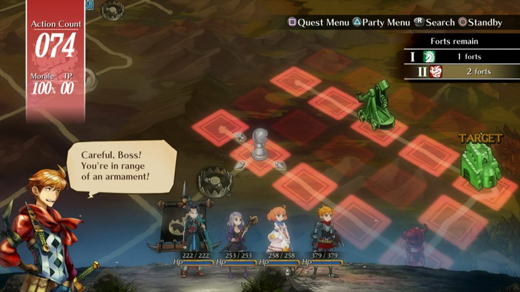 Grand Kingdom PS4 Game Review Screenshot 2