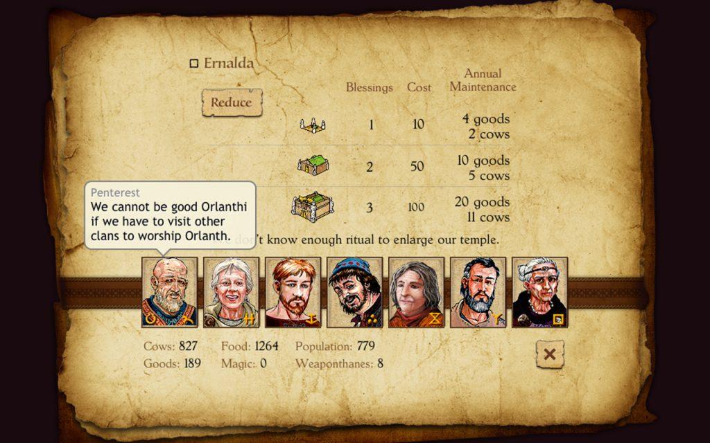 King of Dragon Pass Review Screenshot 1