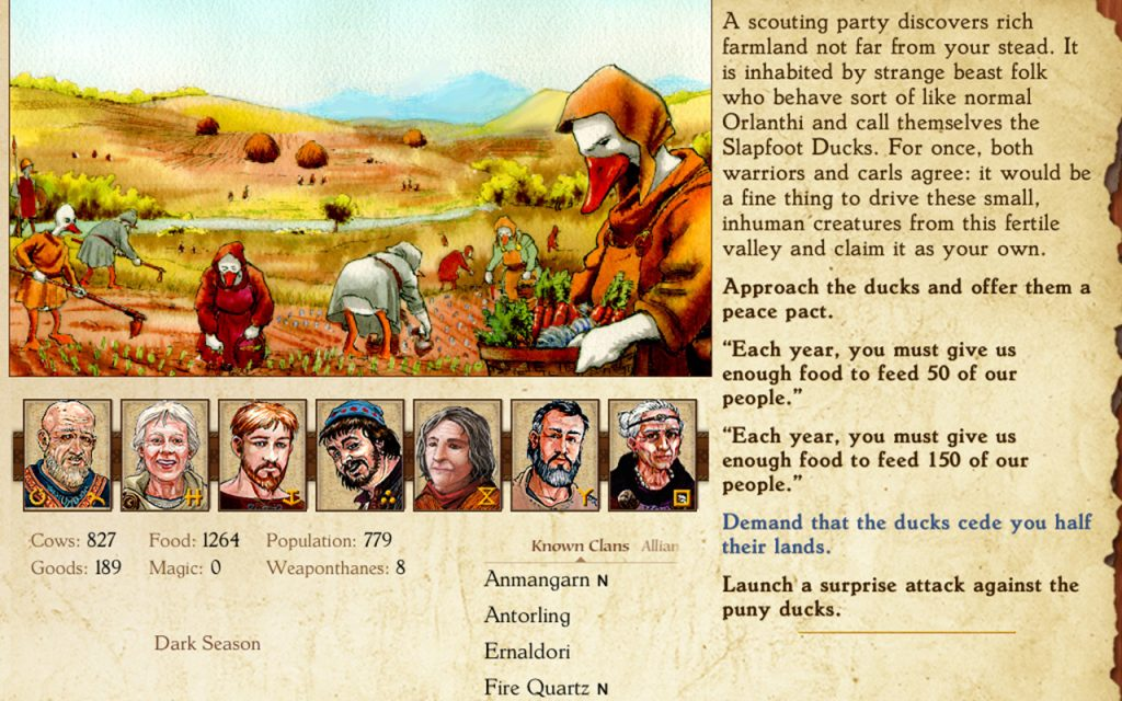King of Dragon Pass Review Screenshot 2