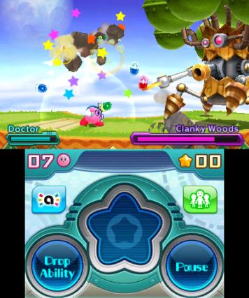 Kirby Planet Robot 3DS Review Screenshot 1