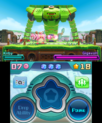 Kirby Planet Robot 3DS Review Screenshot 2