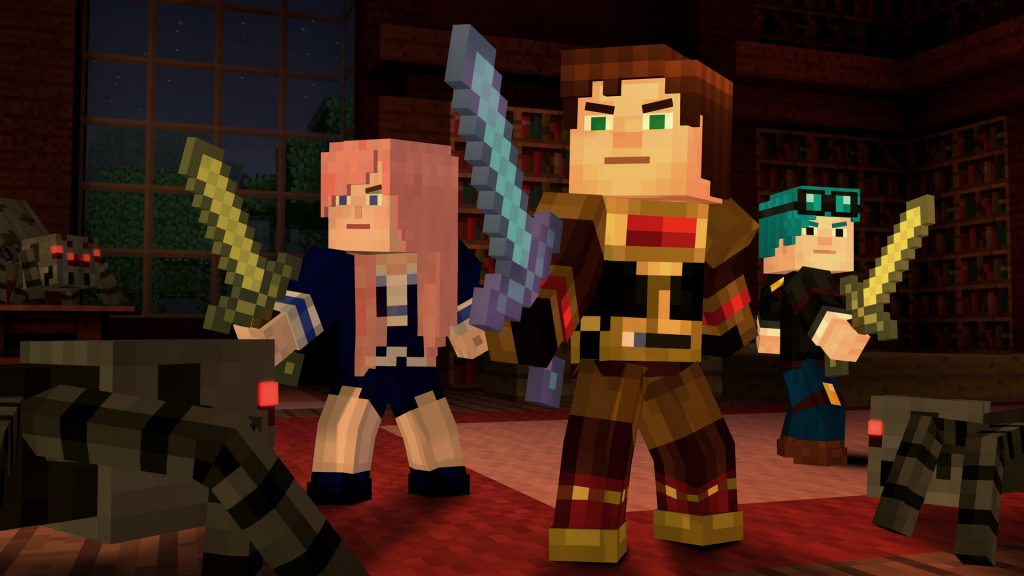 Minecraft Story Mode Episode 6 A Portal to Mystery Review Screenshot 1