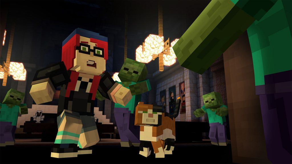 Minecraft Story Mode Episode 6 A Portal to Mystery Review Screenshot 3