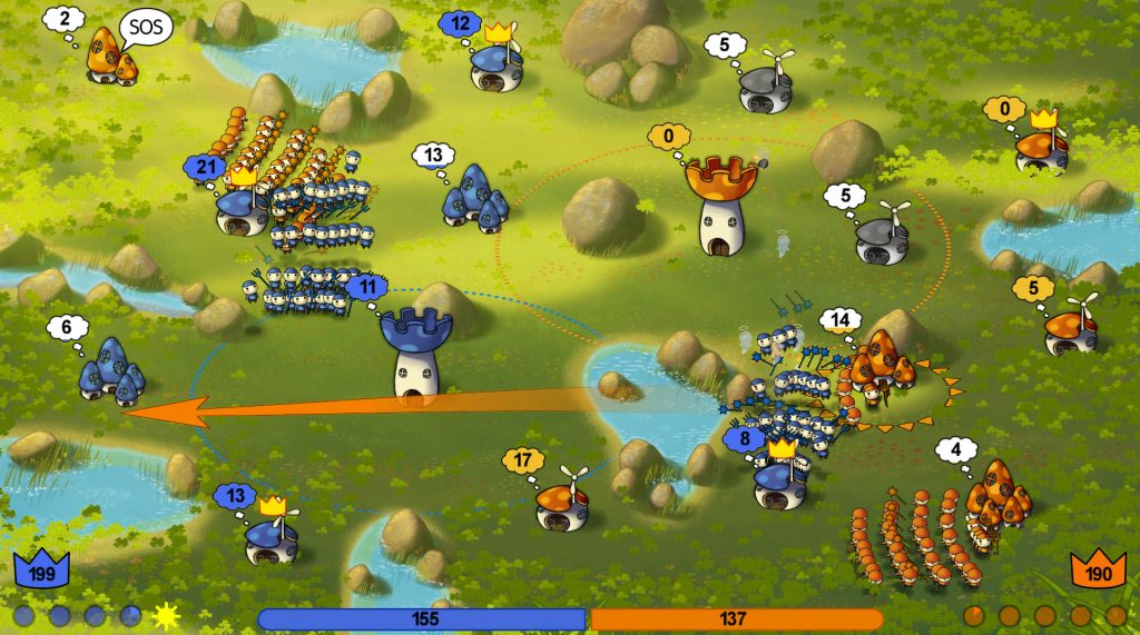 Mushroom Wars Review Screenshot 1
