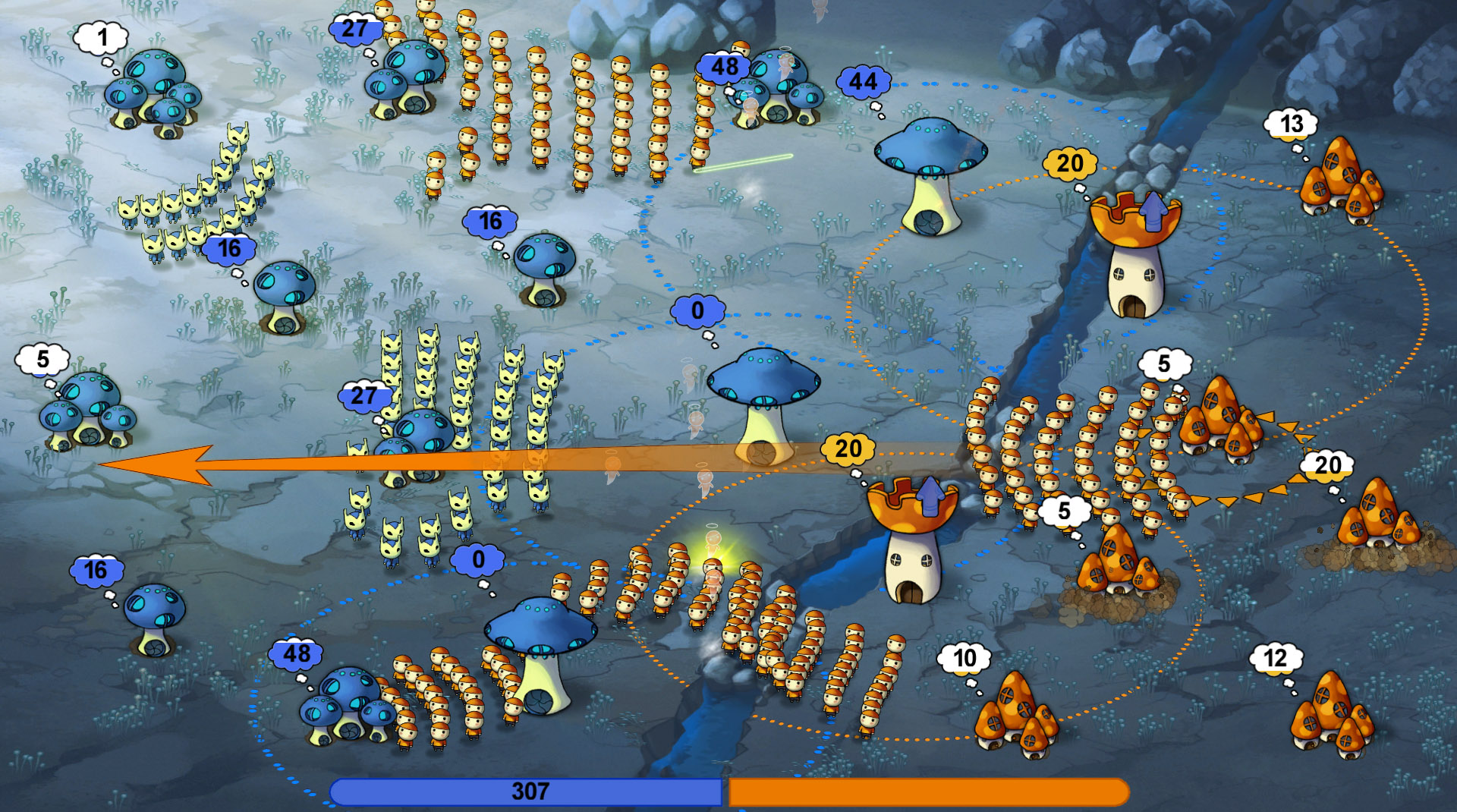 Mushroom Wars Review Screenshot 2