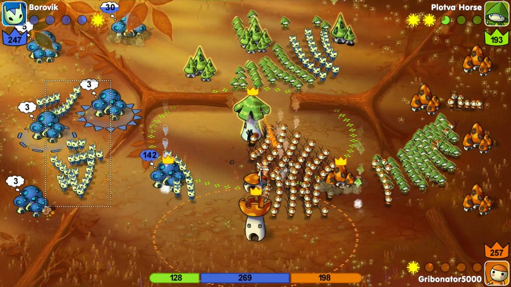 Mushroom Wars Review Screenshot 3