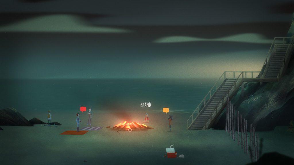 Oxenfree PS4 Review Screenshot 1