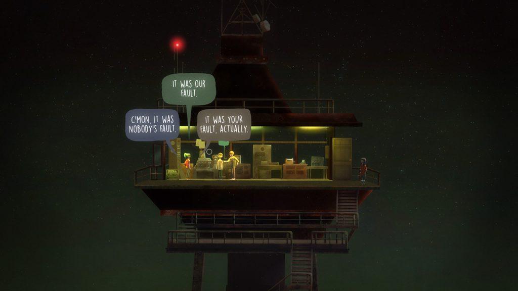 Oxenfree PS4 Review Screenshot 3