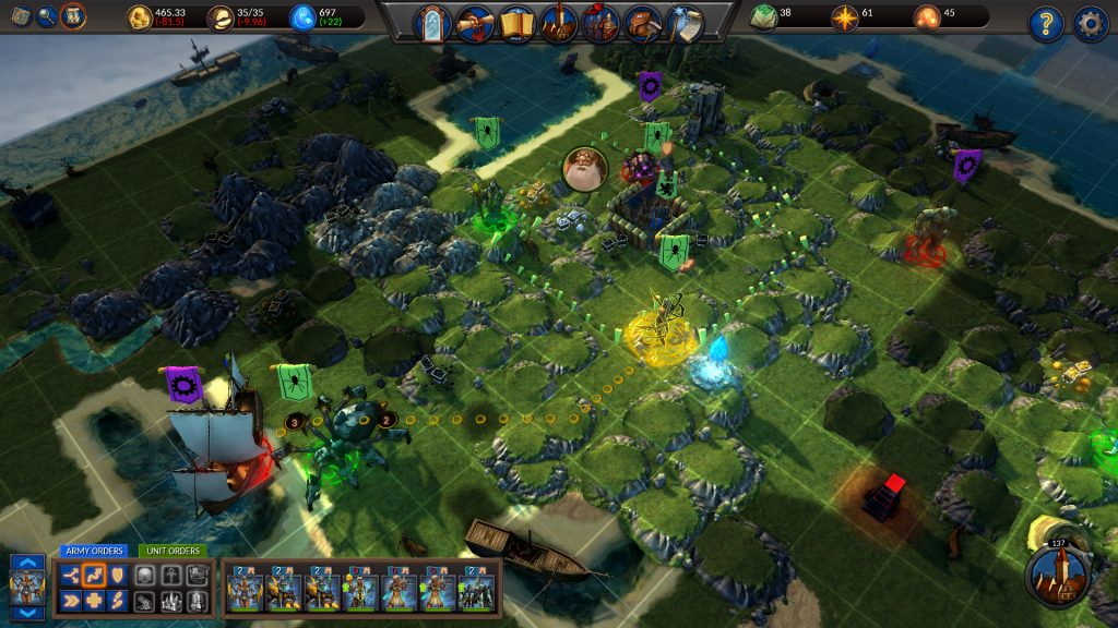 Planar Conquest PC Game Review Screenshot 1