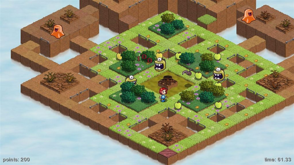 Skyling Garden Defense Xbox One Review Screenshot 2