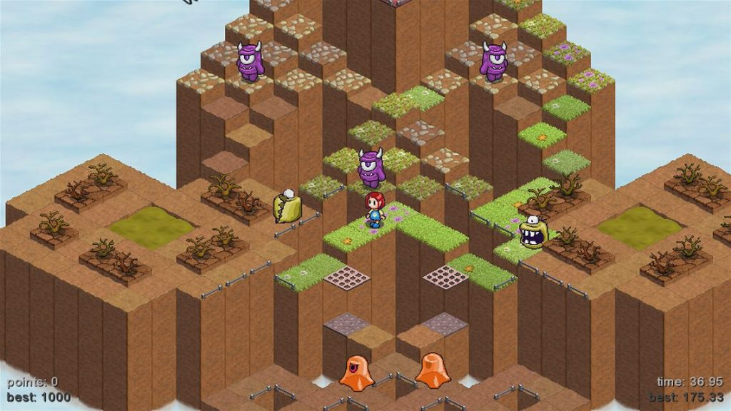Skyling Garden Defense Xbox One Review Screenshot 3