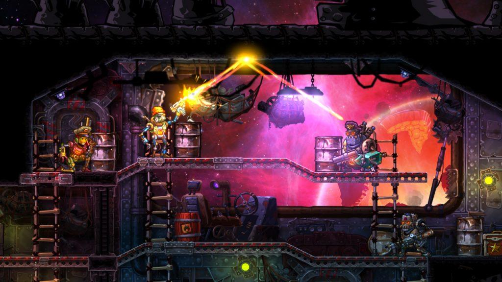 SteamWorld Heist PS4 Review Screenshot 1