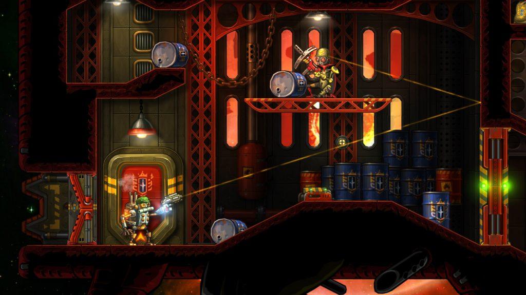 SteamWorld Heist PS4 Review Screenshot 2