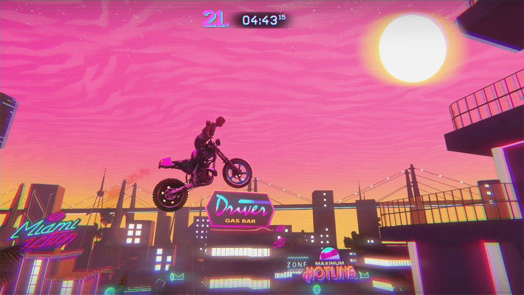 Trials of the Blood Dragon Xbox One Review Screenshot 1