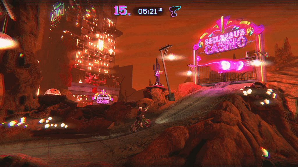 Trials of the Blood Dragon Xbox One Review Screenshot 2