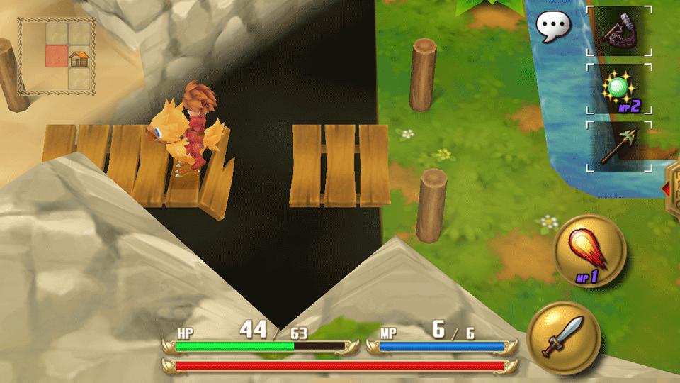 Adventures of Mana PS Vita Review Screenshot 3