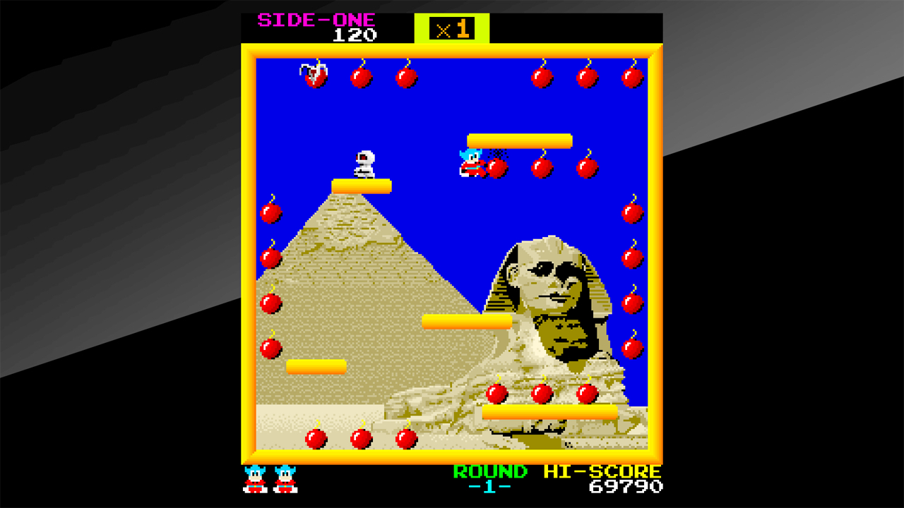 arcade bomb jack