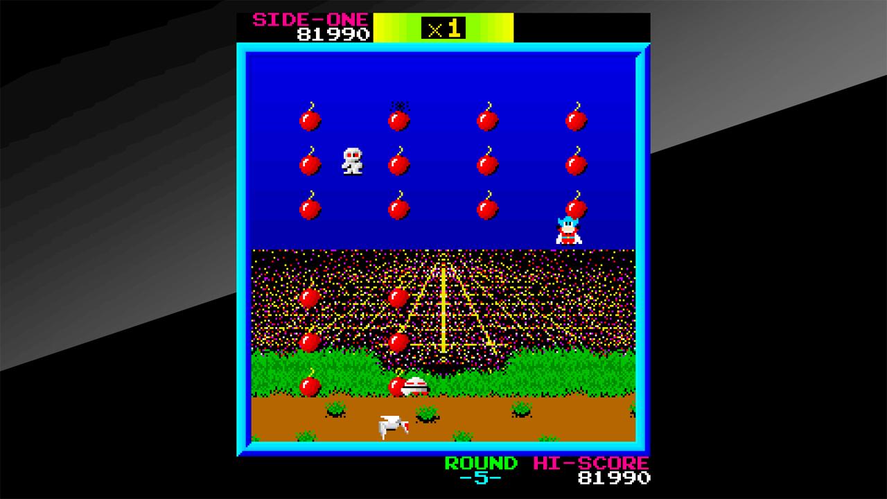 Arcade Archives BOMB JACK Review Screenshot 3