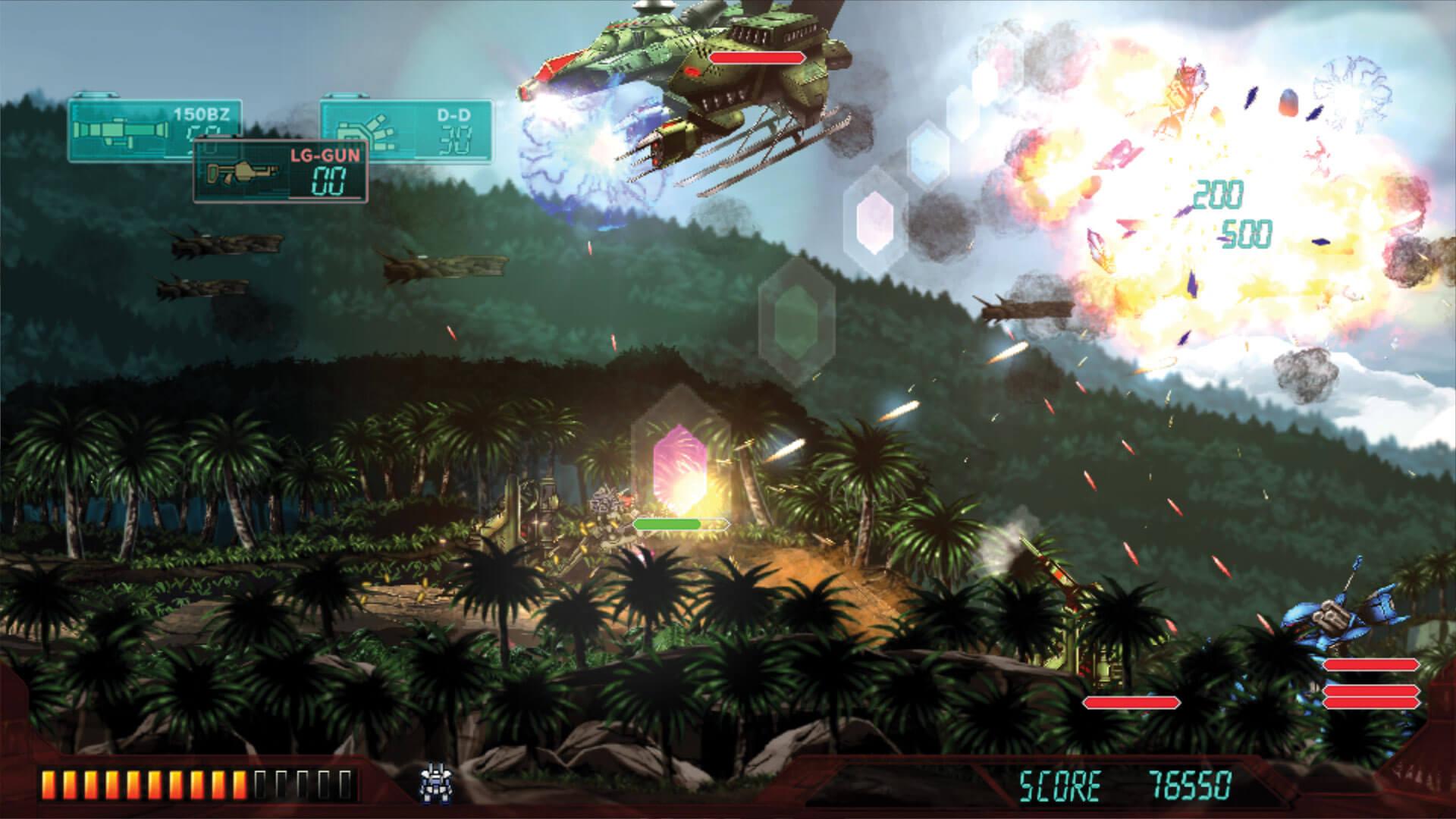 Assault Suit Leynos PS4 Review Screenshot 2