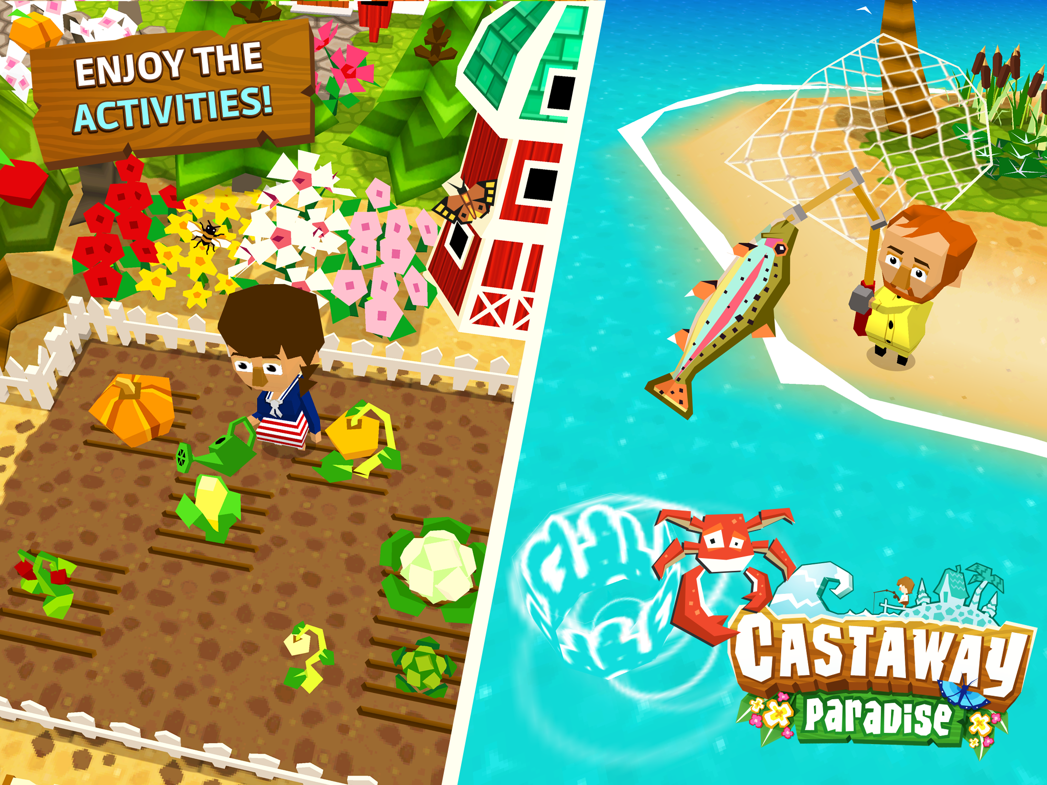 Castaway Paradise Complete Edition Review Activities Screenshot