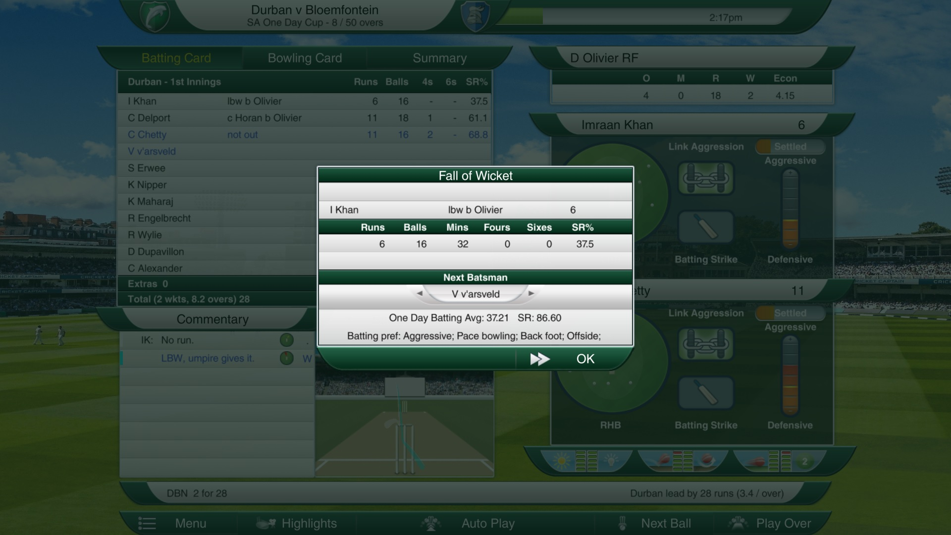 Cricket Captain 2016 Review Screenshot 2
