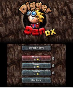 Digger Dan DX 3DS Review Screenshot 1