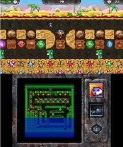 Digger Dan DX 3DS Review Screenshot 2