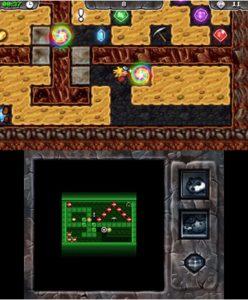 Digger Dan DX 3DS Review Screenshot 3