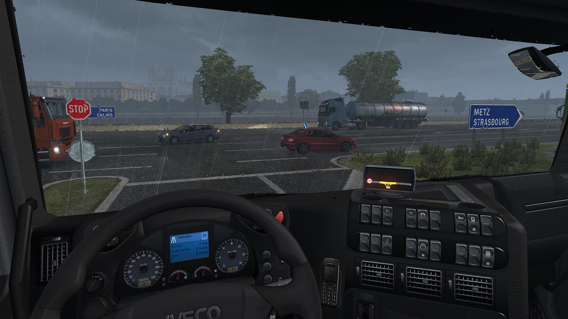 Euro Truck Simulator 2 Review Screenshot 2