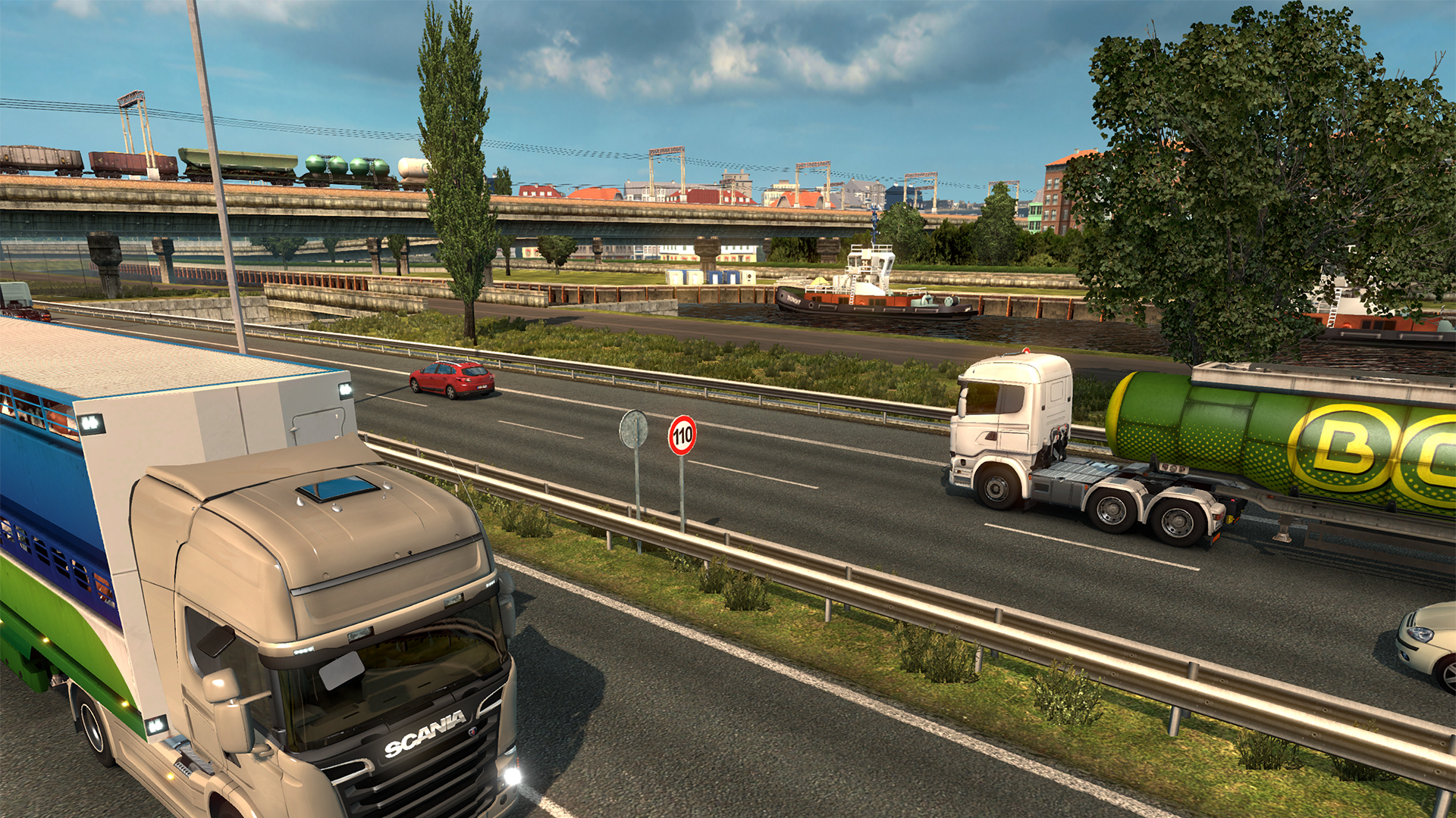 euro truck simulator 2 review screenshot 3 brash games. Black Bedroom Furniture Sets. Home Design Ideas