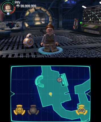 LEGO Star Wars The Force Awakens 3DS Review Screenshot 1