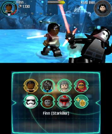 LEGO Star Wars The Force Awakens 3DS Review Screenshot 2