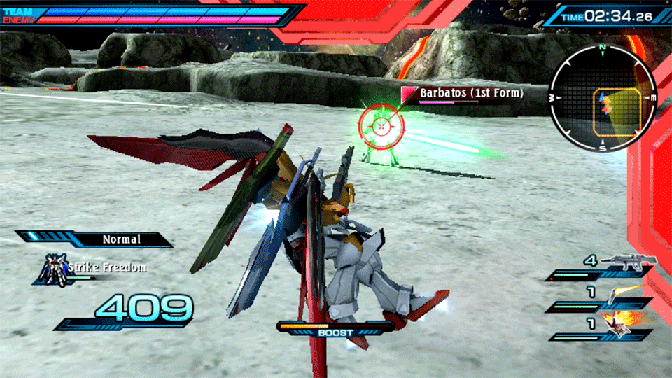 Mobile Suit Gundam Extreme VS-Force Review Screenshot 1