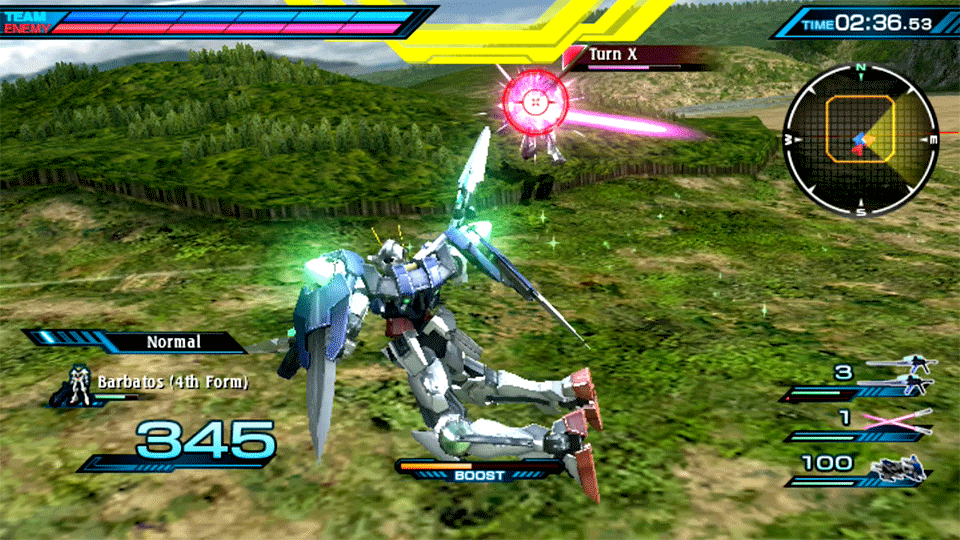 Mobile Suit Gundam Extreme VS-Force Review Screenshot 2