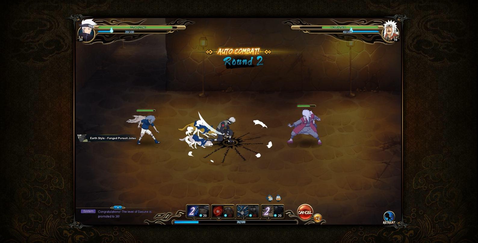 NARUTO ONLINE_Battle02