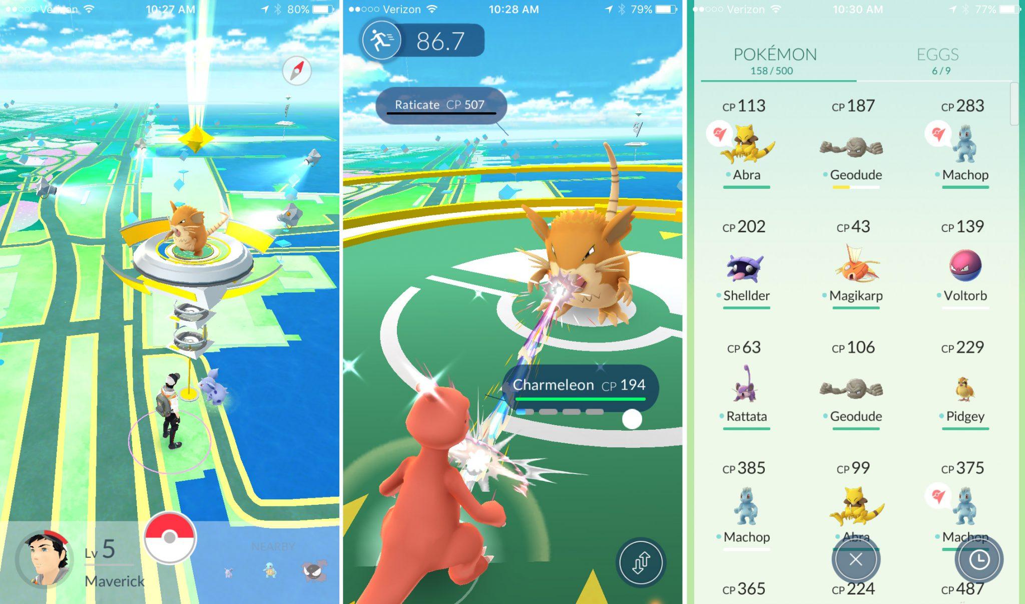 Pokémon Go Screenshot 1