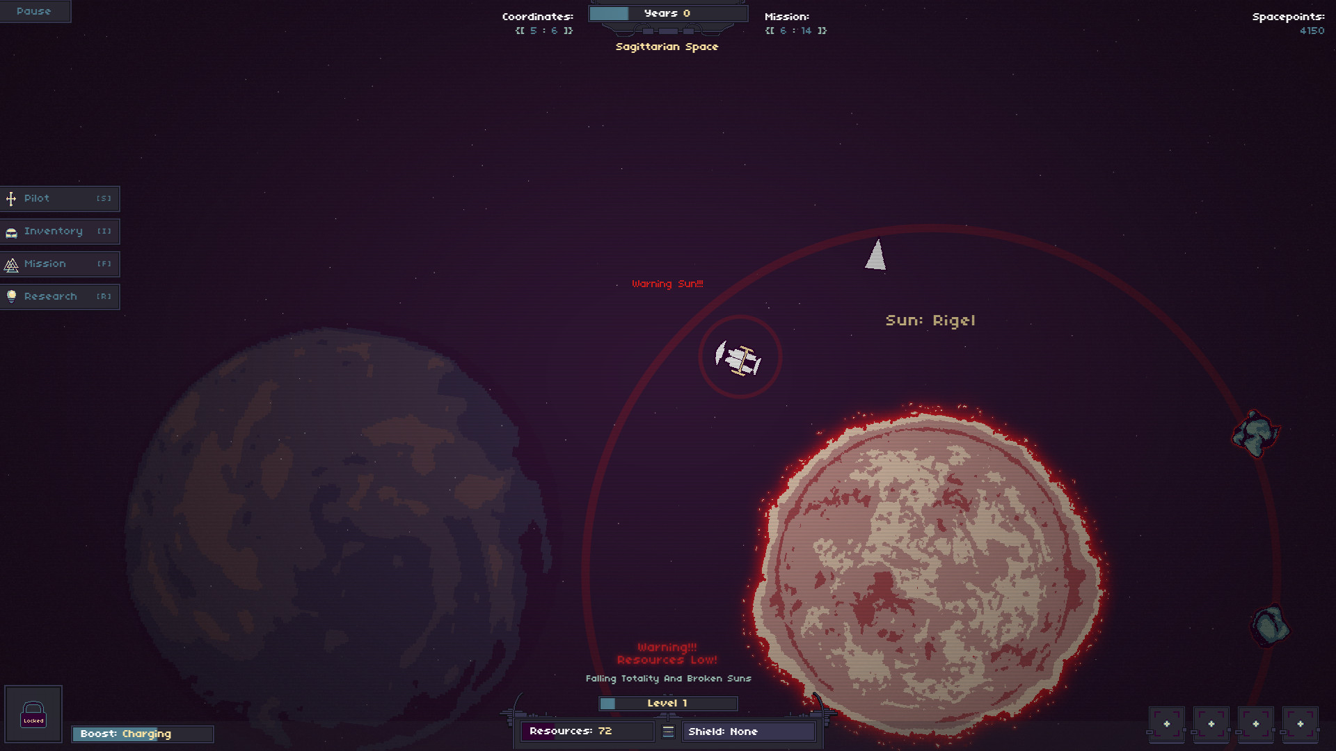 RymdResa PC Game Review Screenshot 1