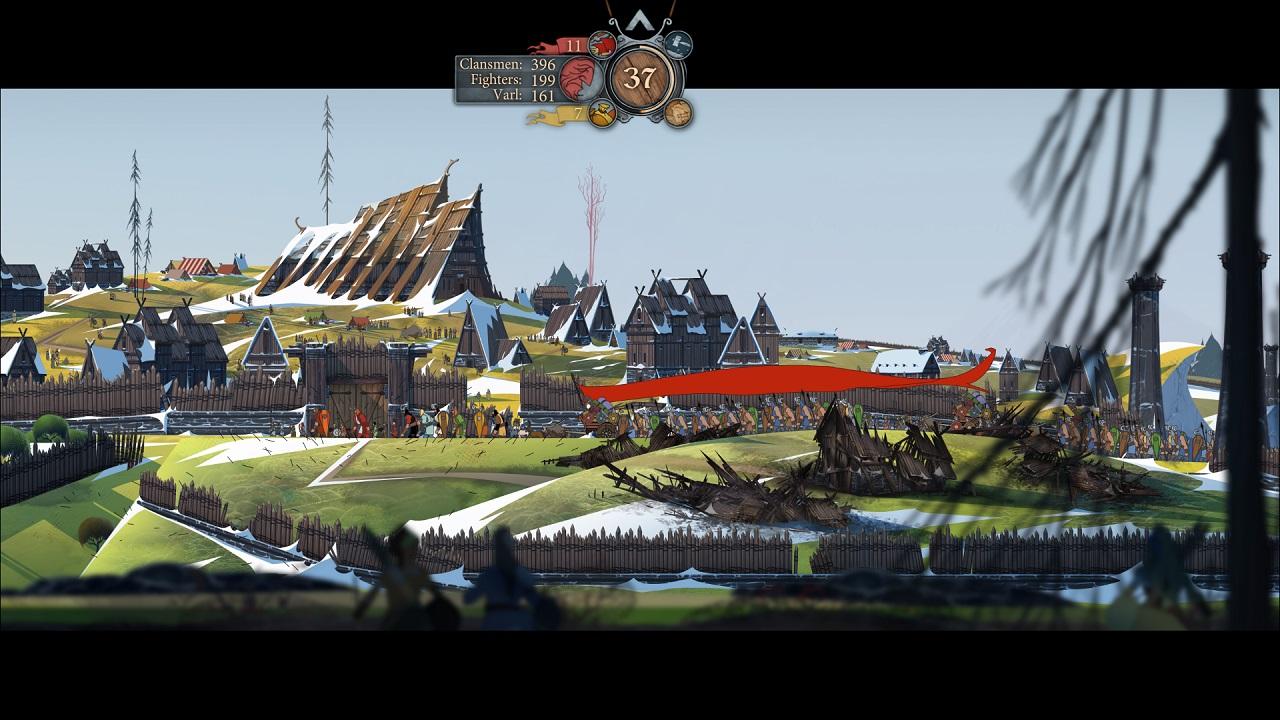 The Banner Saga 2 PS4 Review Screenshot 2