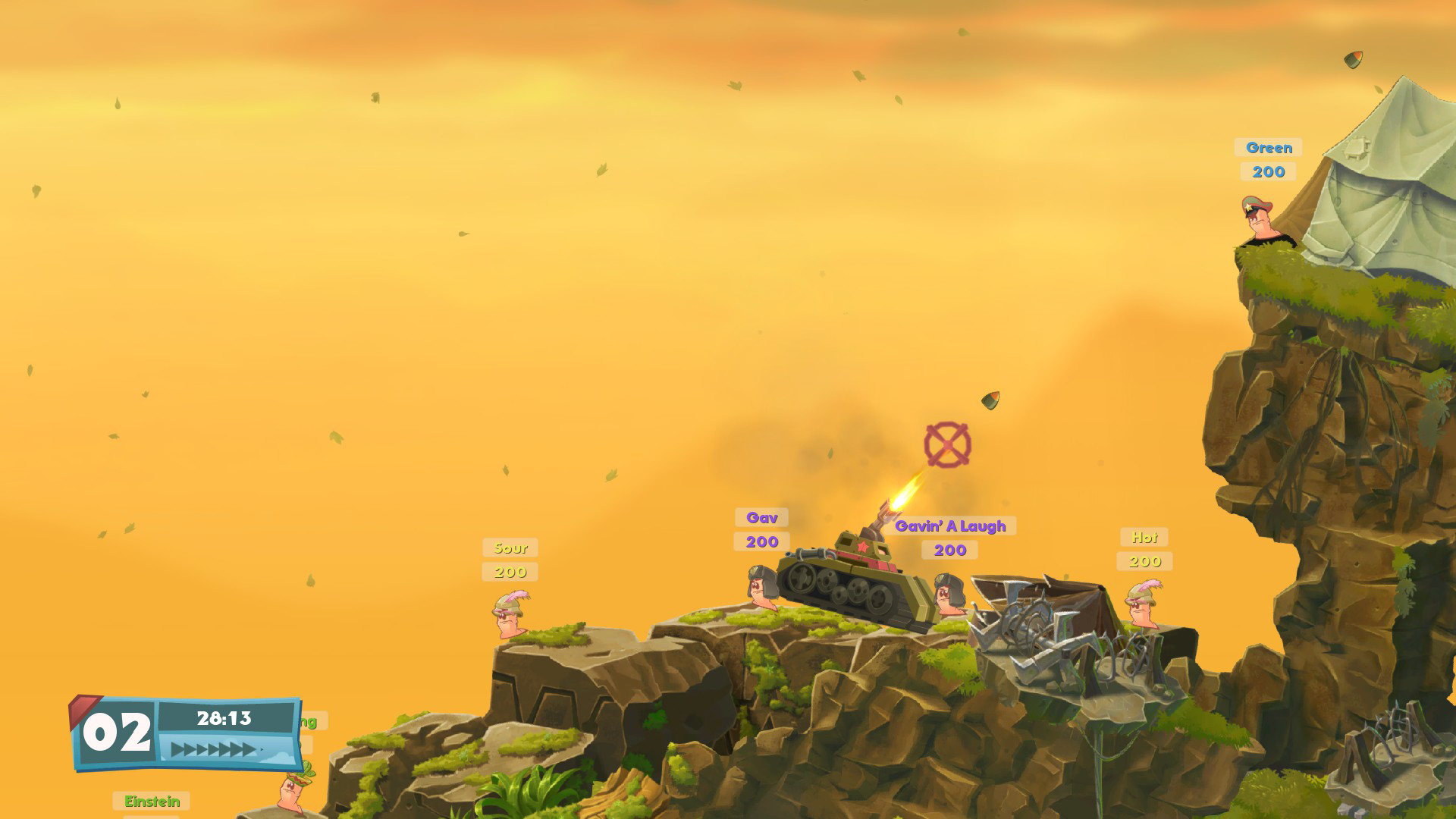 Worms W.M.D Review Screenshot 2