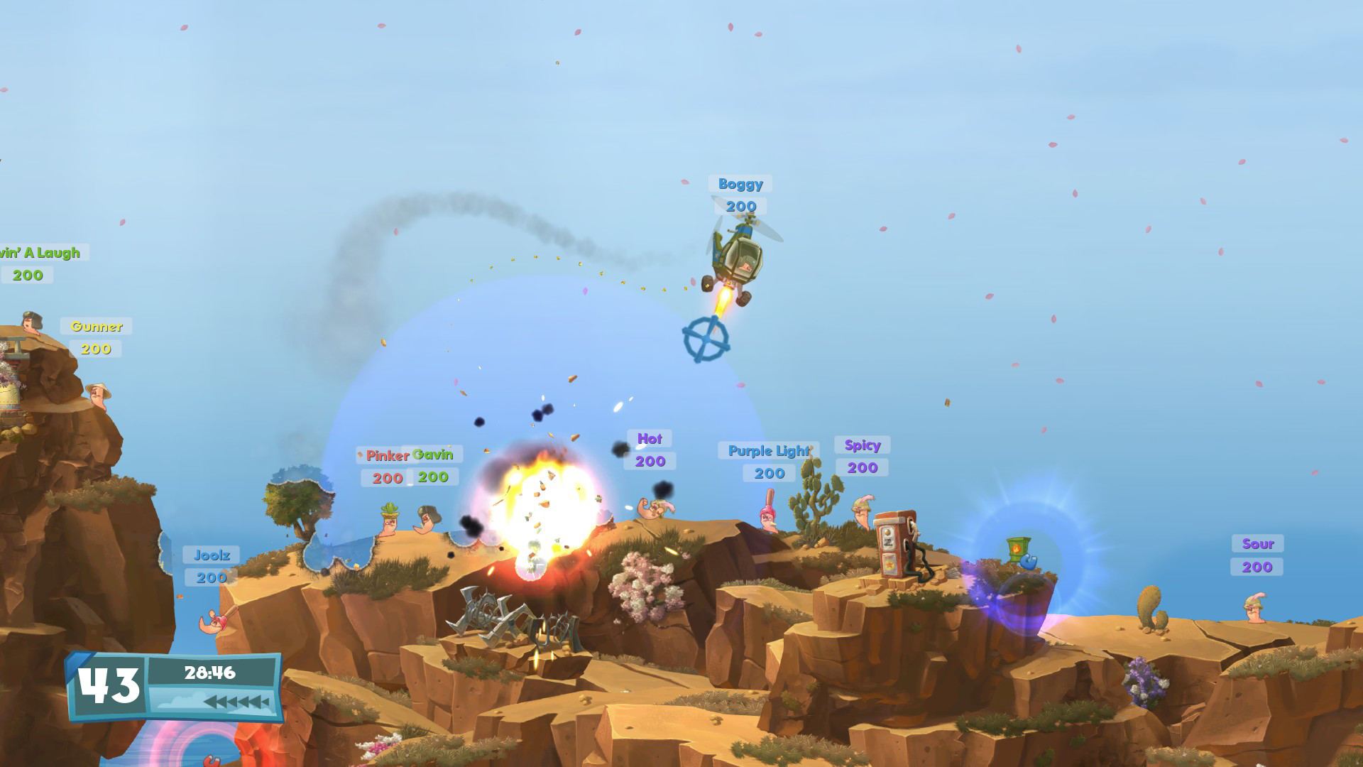 Worms W.M.D Review Screenshot 3