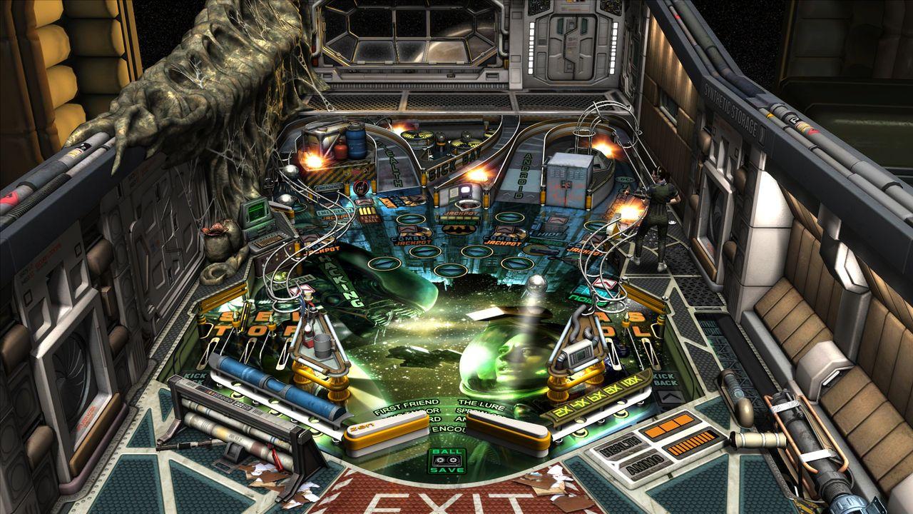 Zen Pinball 2 Aliens vs. Pinball Review Screenshot 1
