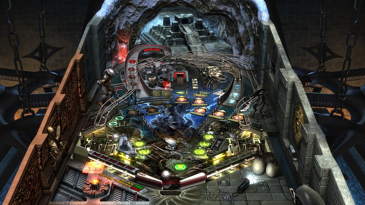 Zen Pinball 2 Aliens vs. Pinball Review Screenshot 2