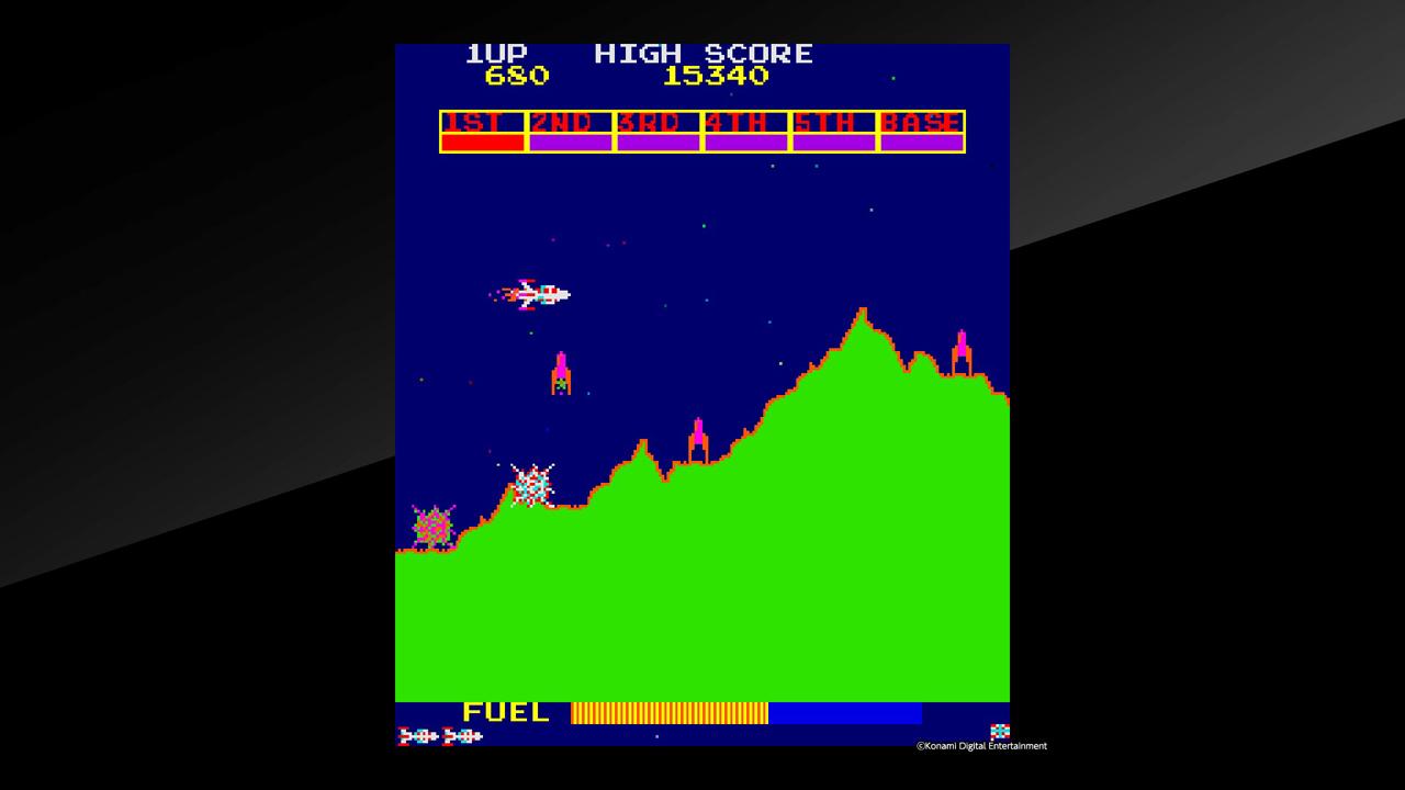 Arcade Archives Scramble Review Screenshot 1