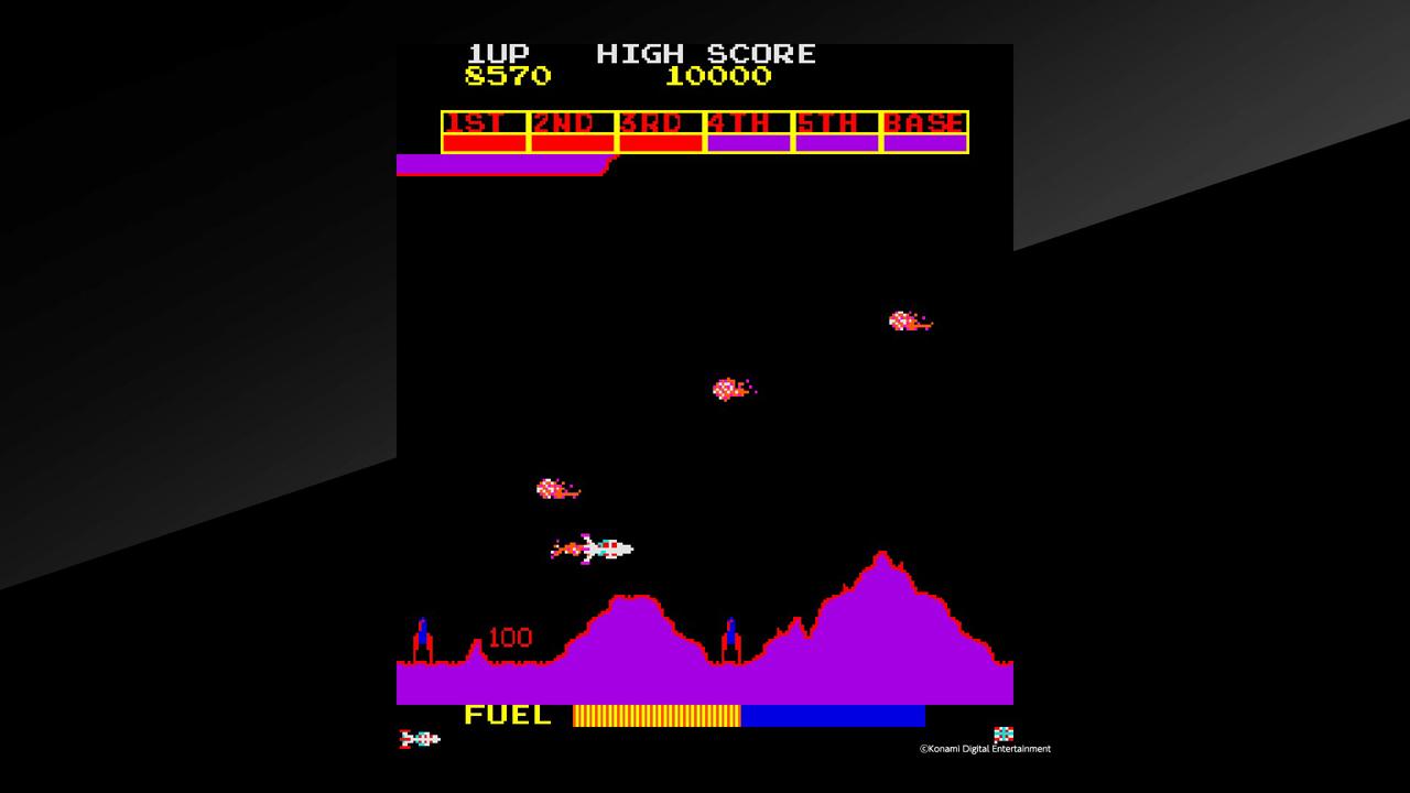 Arcade Archives Scramble Review Screenshot 2