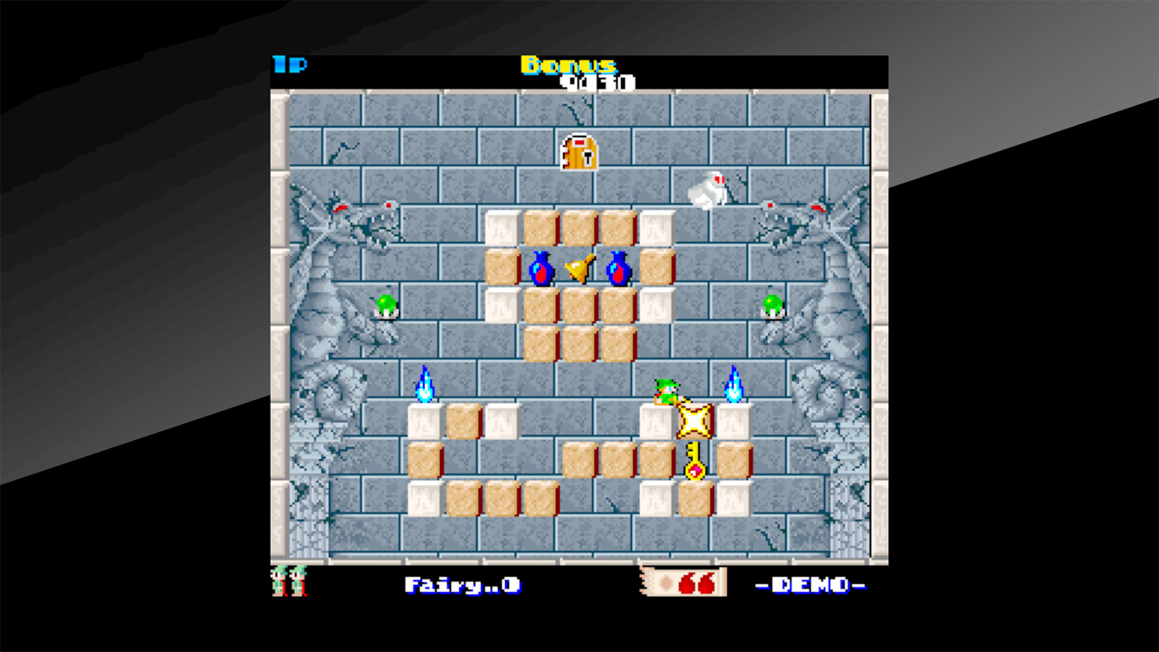 Arcade Archives Solomon's Key Review Screenshot 1